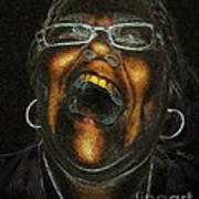 A Dark Laugh Art Print