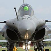 A Dassault Rafale Fighter Aircraft Art Print