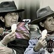 A Day Off In Tarabuco- Bolivia Art Print
