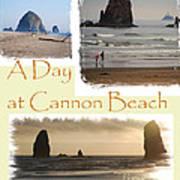A Day On Cannon Beach Art Print