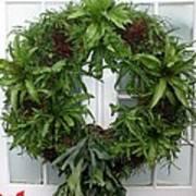 A Different Christmas Wreath Art Print