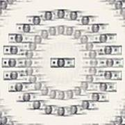 A Dizzying Amount Of Money Art Print