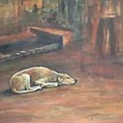A Dog's Life. Art Print