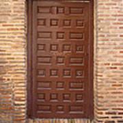 A Door In Toledo Art Print
