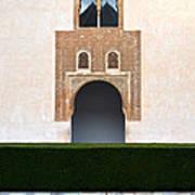 A Door On The Court Of The Myrtles Art Print