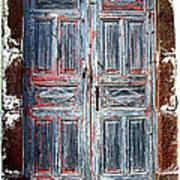 A Door Seldom Open Art Print