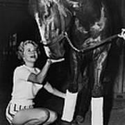 A Dragon Killer Horse Racing Vintage Art Print