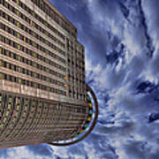 A Drifting Skyscraper Art Print