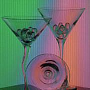 A Dry Martini Art Print