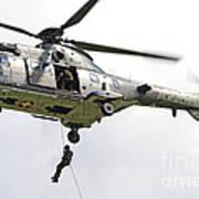 A Eurocopter As332 Super Puma Art Print