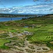 A Fairway To Heaven - Chambers Bay Golf Course Art Print