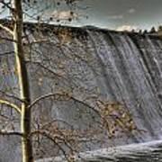 A Fall Waterfall Art Print