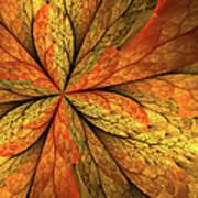 A Feeling Of Autumn Art Print