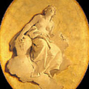 A Female Allegorical Figure Art Print