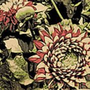 A Floral View Art Print