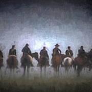 A Foggy Gettysburg Morning - Oil Art Print