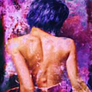 A Forbidden Love Affair Art Print
