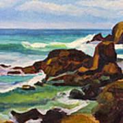 A Frouxeira Galicia Art Print