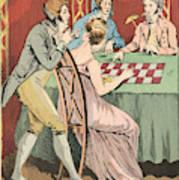 A Gambling Hell Art Print