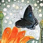 A Garden Visitor Art Print