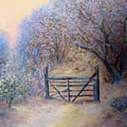 A Gate Art Print