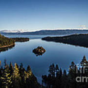A Generic Photo Of Emerald Bay Art Print