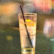 A Glass Of Water Art Print