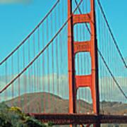 A Golden Gate View Art Print