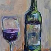 A Good Pour Print by Donna Tuten