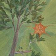 A Great Tree Grows Print by Robert Meszaros
