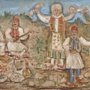 A Greek Feast Art Print