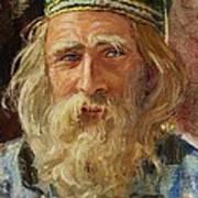 a Greek Portrait Art Print