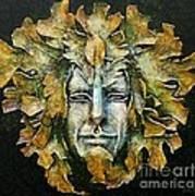 A Green Man Art Print