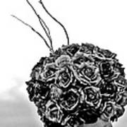 A Hat Of Roses Art Print
