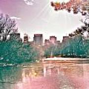 A Haze Over Central Park Art Print