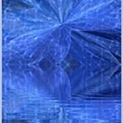 A Healing In Blue Living Waters Art Print