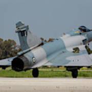 A Hellenic Air Force Mirage 2000 Egm Art Print