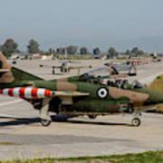 A Hellenic Air Force T-2 Buckeye Art Print