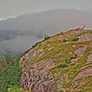 A High Point On Signal Hill National Historic Site In Saint John's-nl Art Print
