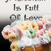 A Kitchen Is Full Of Love 14 Art Print
