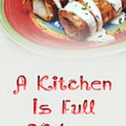 A Kitchen Is Full Of Love 2 Art Print