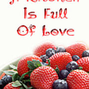 A Kitchen Is Full Of Love 9 Art Print