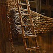 A Ladder's Rung Art Print