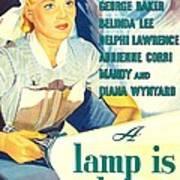 A Lamp Is Heavy, Aka The Feminine Art Print