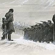 A Last Minute Reprieve Saved Fyodor Dostoievski From The Firing Squad Art Print