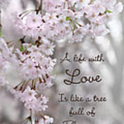 A Life With Love Art Print