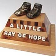 A Little Ray Of Hope  #115 Art Print