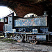 A Locomotive At The Colliery Art Print
