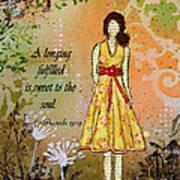 A Longing Fulfilled Art Print by Janelle Nichol