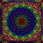 A Love Of Kaleidoscopes Art Print